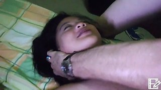 Filipina Whore Teaches LBFM To Deep Throat and Ass Fuck