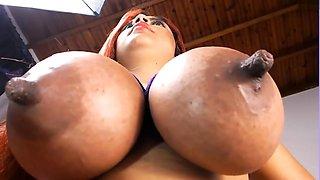 Bhianka - Huge Nipple Worship and Titfuck