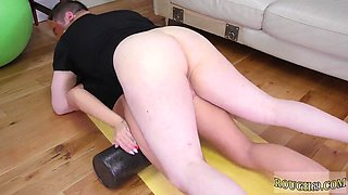Sex wrestling domination Ass-Slave Yoga