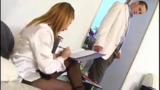 Alice secretary pantyhose