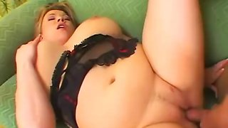 Sexy Chubby Blond Cougar