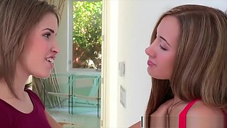 Reality Kings - Natasha White , Amia Miley - Kissing Lips