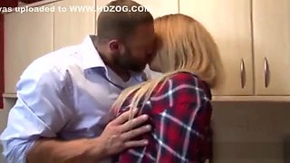 PURE XXX FILMS Banging my Stepdaughter in the kitchen