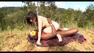 Asian milf tastes big black cock in african tribes -2 on hdmilfcam.com