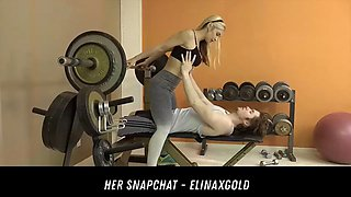 hot fitness trainer client free fuck her snapchat - elinaxgold
