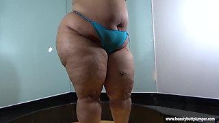 Ruby Big Butt Latina Striptease