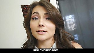 SisLovesMe - Found My Sisters Naughty Sex Tape