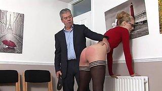 England office spanking!