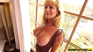 giant boobie gilf good anal fucking pov hot busty cougar