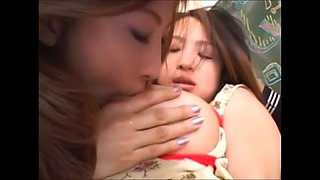 asian lesbian sucking big natural tits milk of tsukasa