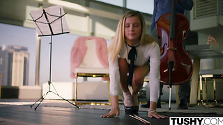 TUSHY Spoiled Teen is Punished And Gaped By Music Teacher