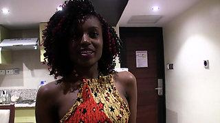 Petite African Amateur Model Casting