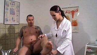 A Horny Doctor Fucks Her Patient