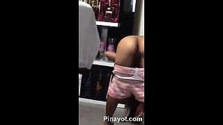 Hot Filipina Escort Dancing Naked infront of Costumer