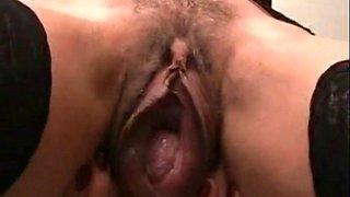 Close Up - Huge Mature Pussy